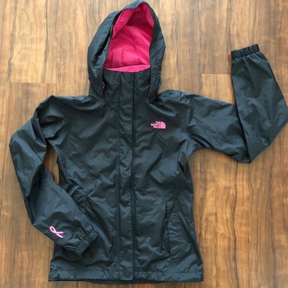 a11f0db30 The North Face Pink Ribbon Resolve Jacket Women XS